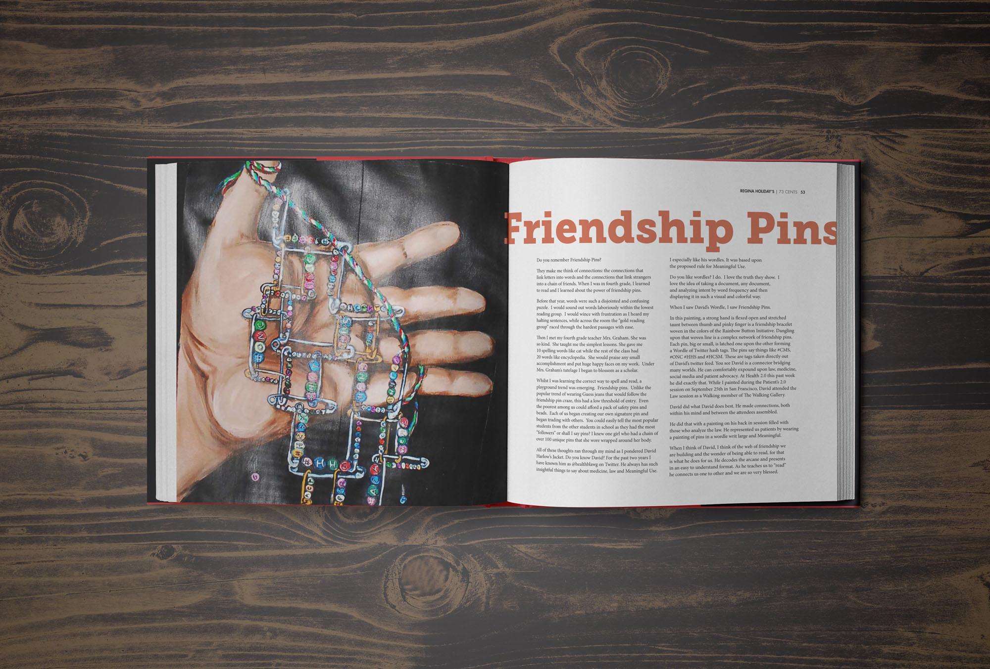 Frinedship-Pins